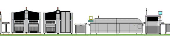SMT preused production line